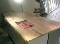 Kitchen Worktop Fitting